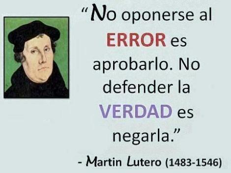 Defender el error es aprobarlo